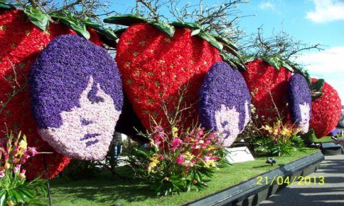 HOLANDIA / - / Noordwijk / The Beatles - Parada kwiatowa