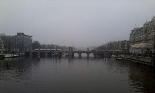 Zdjecie HOLANDIA / Amsterdam / Amsterdam / Amstel river