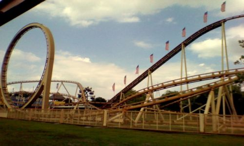 Zdjecie HOLANDIA / - / Slagharen / Rollercoaster