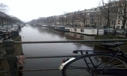 Zdjecie HOLANDIA / Amsterdam / Amsterdam / Amsterdam's canal