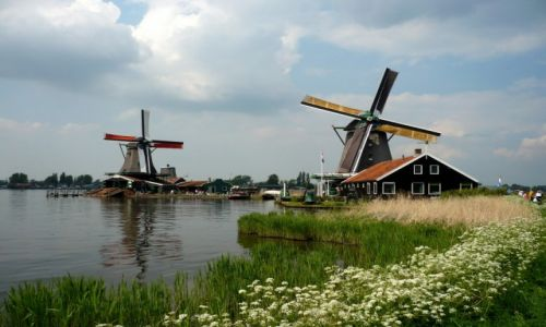 HOLANDIA / Zaandam / Zaanse Schans / Uroki Zaanse Schans