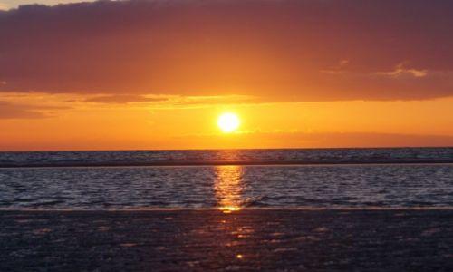 Zdjecie HOLANDIA /  Grevelingen / Port Zelande / Zachód słońca