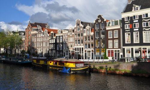 HOLANDIA / Amsterdam / Amsterdam / Kolorowy Amsterdam