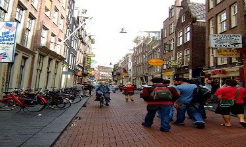 Zdjecie HOLANDIA / Holandia / Amsterdam / centrum  Amsterdamu
