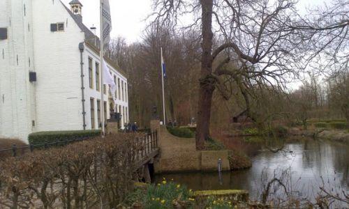 Zdjecie HOLANDIA / zuid holland / Rhoon / zamek na wodzie z 1432