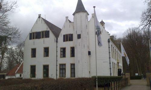 Zdjecie HOLANDIA / Zuid Holland / Rhoon / zamek na wodzie Rhoon