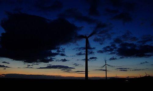 Zdjęcie HOLANDIA / Flevoland / zeewolde / wieczór nad  Flevolandem