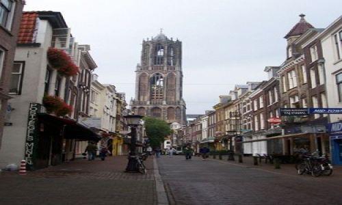Zdjęcie HOLANDIA / brak / Utrecht / Dom Toren, wieża katedry w Utrechcie