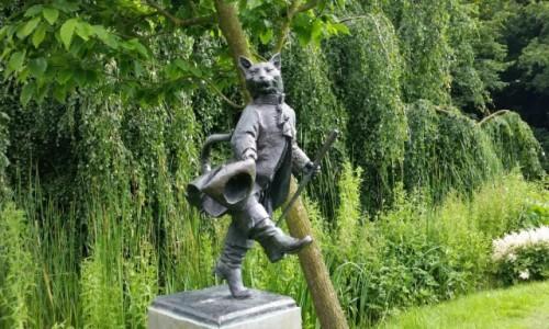 Zdjecie HOLANDIA / - / Haga, Westbroekpark / W różanym ogrod