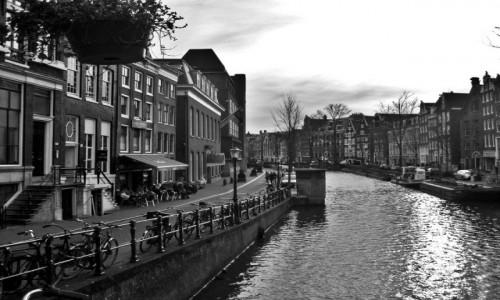 Zdjecie HOLANDIA / Amsterdam / Amsterdam / Miasto rower�w