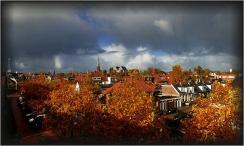 Zdjęcie HOLANDIA / Fryzja / Leeuwarden / Leeuwarden jesień