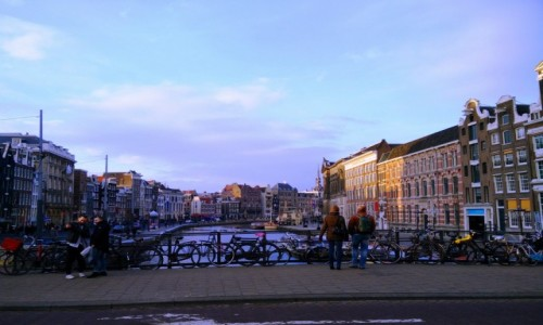 Zdjęcie HOLANDIA / Amsterdam / Amsterdam / Kanały Amsterdamu