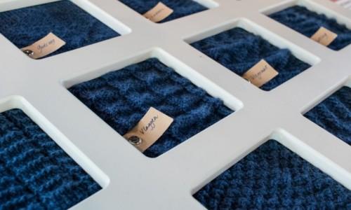 Zdjecie HOLANDIA / Vlaardingen / Muzeum Vlaardingen / Wzory swetrów