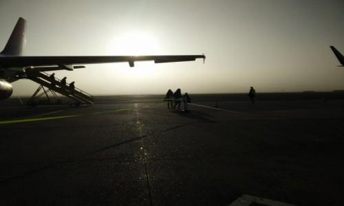 Zdjecie HOLANDIA / - / Maastricht Aachen / Utrudnione lądowanie