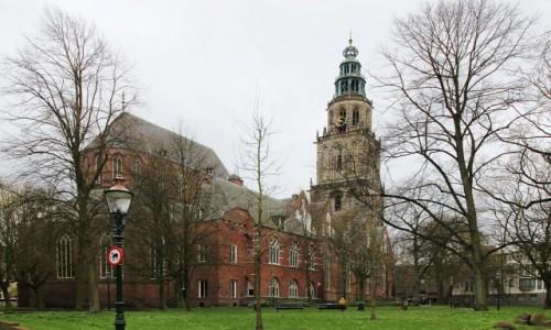 Zdjęcie HOLANDIA / Groningen / Stare Miasto / Kościół św. Marcina