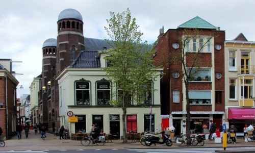 HOLANDIA / Groningen / Stare Miasto / Synagoga