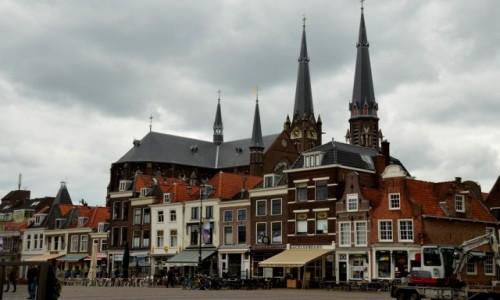 Zdjęcie HOLANDIA / zachód / Delft / Architektura Rynku w Delft