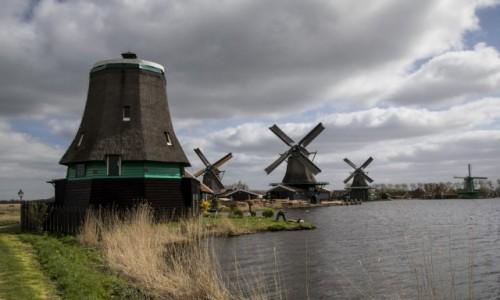 HOLANDIA / Holandia Północna / Zaandam / Zaanse Schans