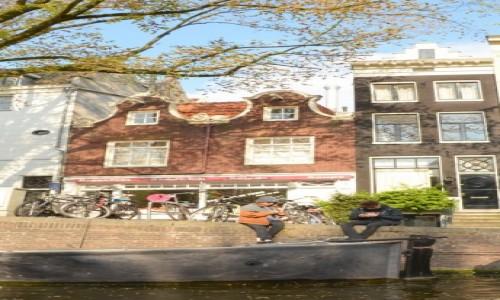 Zdjęcie HOLANDIA / Amsterdam / Amsterdam / z rejsu po kanałach Amstrdamu