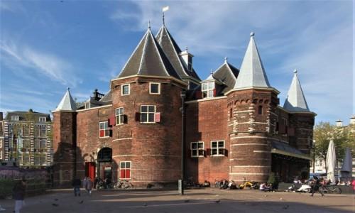 Zdjęcie HOLANDIA / Amsterdam / Plac Nieuwmarkt  / De Waag