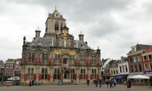 Zdjecie HOLANDIA / Holandia południowa / Delft / Ratusz w Delft