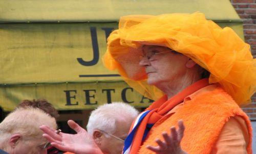 Zdjecie HOLANDIA / brak / Amsterdam / urodziny Królowej