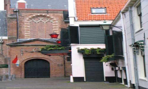 Zdjecie HOLANDIA / brak / Haarlem / kościół i dom publiczny