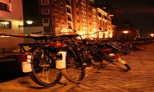 Zdjecie HOLANDIA / brak / Amsterdam / Amsterdam nocą