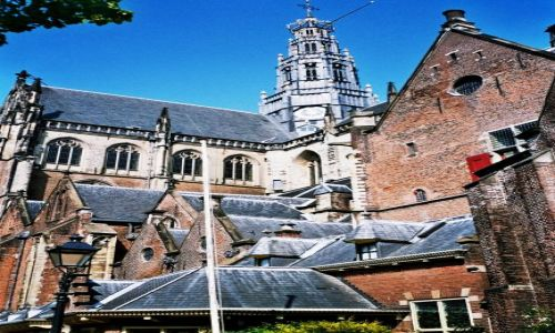 Zdjecie HOLANDIA / Holandia Północna / Haarlem / kościół St Bavo w Haarlemie