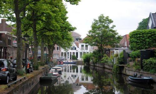 Zdjecie HOLANDIA / - / Alkmaar / Kanał