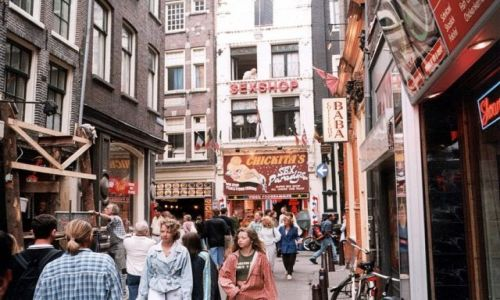 Zdjęcie HOLANDIA / - / AMSTERDAM. / Dzielnica