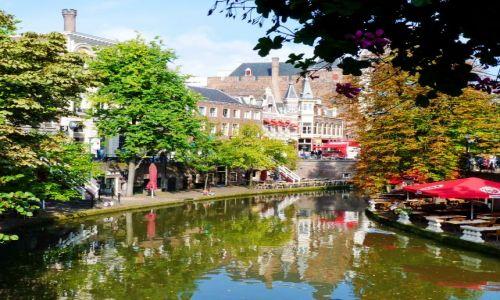 Zdjęcie HOLANDIA / Utrecht / Utrecht / Jesień już