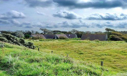 HOLANDIA / frieslan / Texel / Domostwo na wyspie