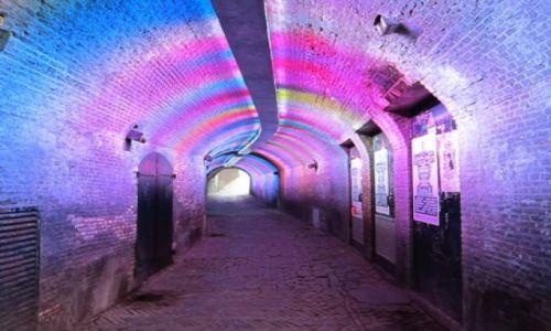 Zdjecie HOLANDIA / Utrecht / Utrecht / Teczowy tunel