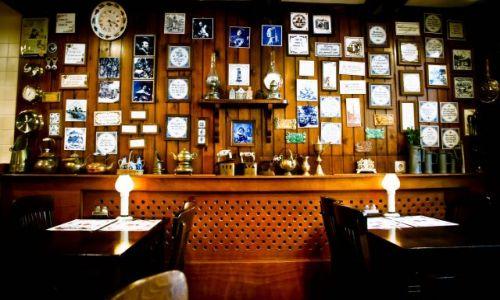 Zdjecie HOLANDIA / Europa / Amsterdam / amsterdamska restauracyjka