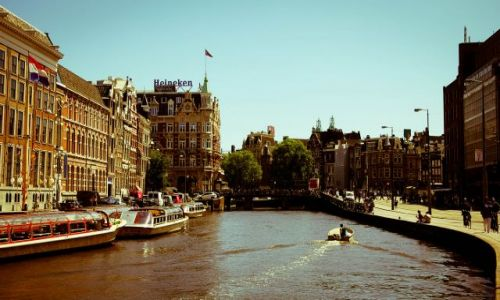 Zdjecie HOLANDIA / Europa / Amsterdam / po prostu Amste