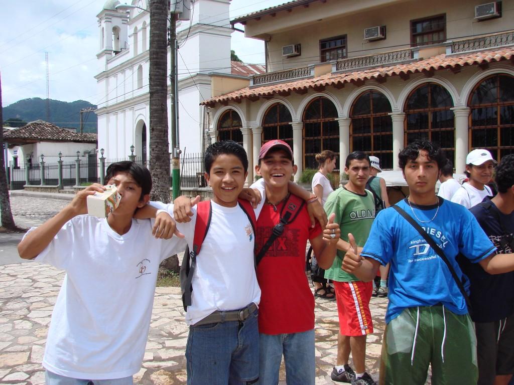 Zdjęcia: Interior, Interior, Radość na widok turystów, HONDURAS