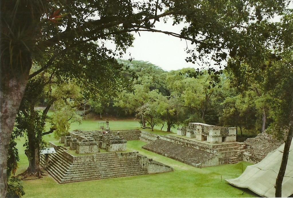 Zdjęcia: Copan Ruinas, Zach. Honduras, Boisko do gry w pelotę, HONDURAS