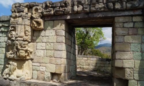 Zdjęcie HONDURAS / Copan / Ruiny miasta Majów / Zadziwia to co pozostało