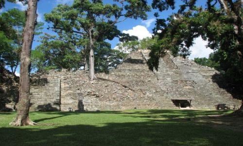 Zdjęcie HONDURAS / - / Copan / Piramida