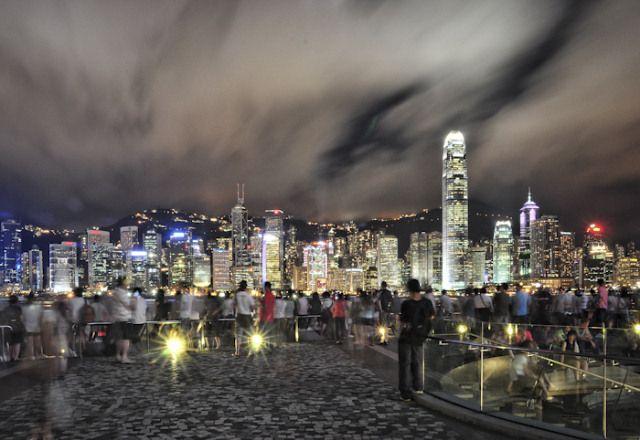 Zdjęcia: Kowloon, by nite, HONG KONG