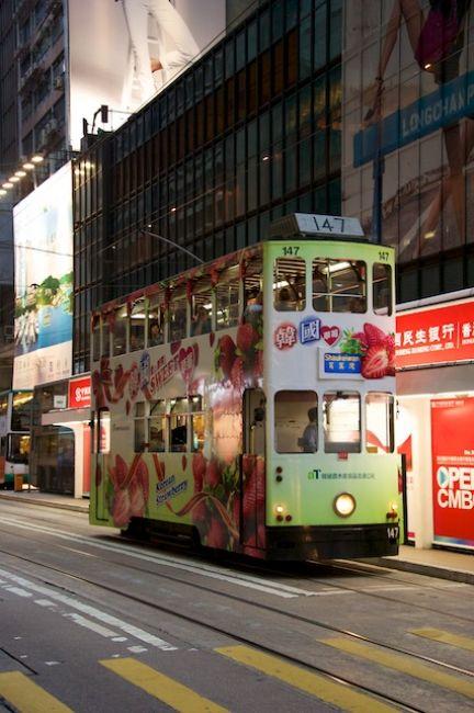 Zdjęcia: Hong Kong, Hong Kong, Pietrowy tramwaj (Hong Kong), HONG KONG