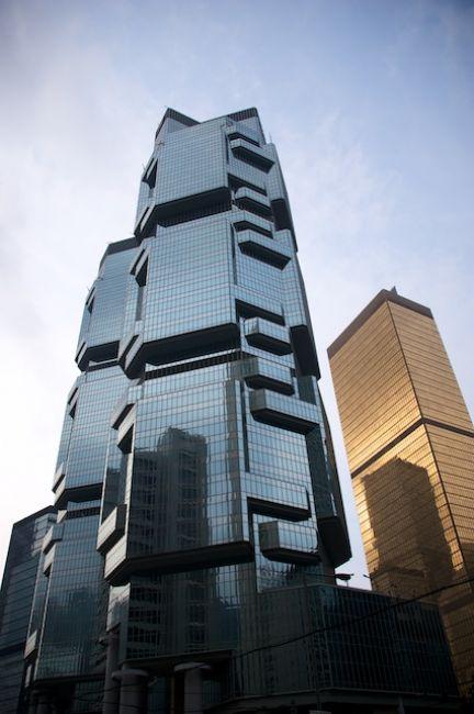 Zdjęcia: Hong Kong, Hong Kong, Ciekawy wiezowiec (Hong Kong), HONG KONG