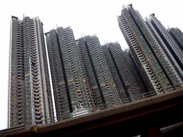 Zdjęcia: Hongkong, Koulun, Wieżowce Hongkongu, HONG KONG
