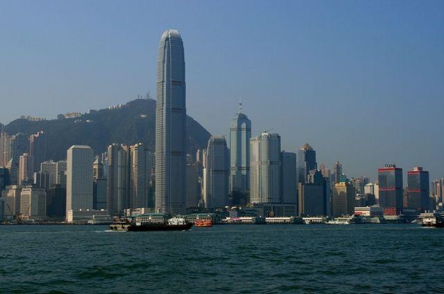 Zdjęcia: Widok z Kowloon, Wyspa Hong Kong, HONG KONG