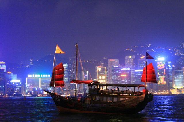 Zdjęcia: Widok z Kowloon_, Wyspa Hong Kong_, HONG KONG