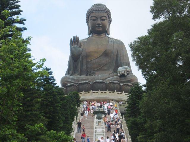 Zdjęcia: Hongkong, Lantau , Budda Tian Tan, HONG KONG