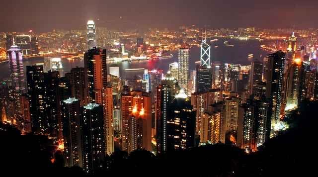 Zdjęcia: Hong Kong, z gory, HONG KONG