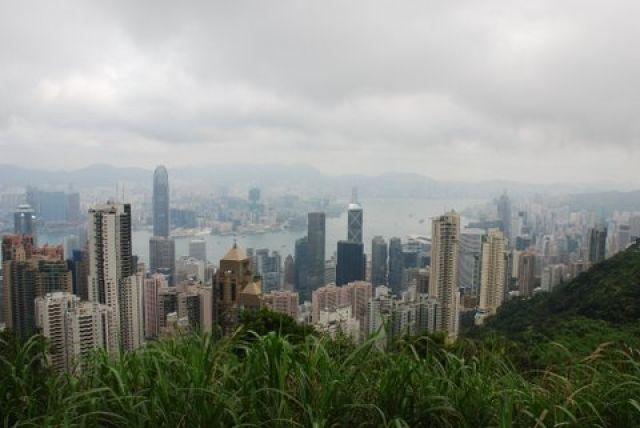 Zdjęcia: Victoria Peak, Hong Kong, Widoki, HONG KONG