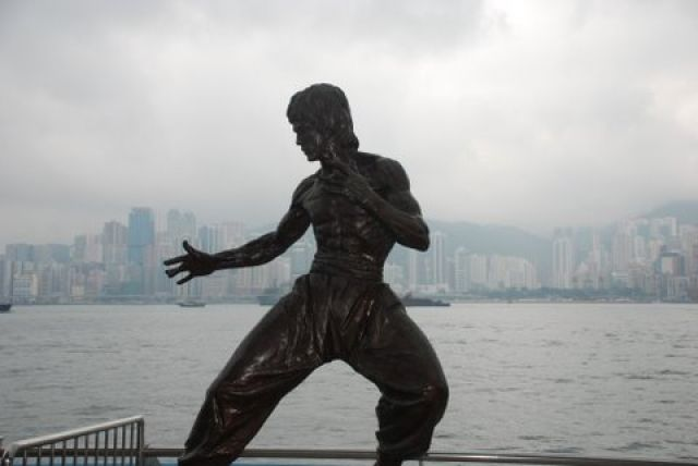 Zdjęcia: Avenue of Stars, Hong Kong, Bruce Lee, HONG KONG